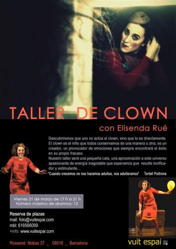 Curso-Clown-Barcelona-2014-vuit-espai