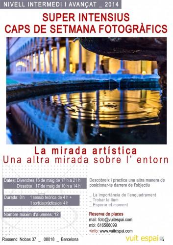 Barcelona 2014. Curso avanzado de Fotografía en Barcelona